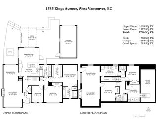 Photo 20: 1535 KINGS Avenue in West Vancouver: Ambleside House for sale : MLS®# R2360802
