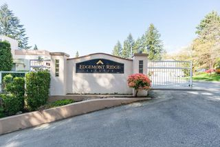 "Main Photo: 3 2425 EDGEMONT Boulevard in North Vancouver: Mosquito Creek Townhouse for sale in ""Edgemont Ridge Estates"" : MLS®# R2383975"