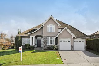 "Photo 1: 3642 CREEKSTONE Drive in Abbotsford: Abbotsford East House for sale in ""Creekstone On The Park"" : MLS®# R2045885"