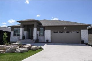 Photo 1: 10 Erin Woods Road in Winnipeg: Bridgwater Forest Residential for sale (1R)  : MLS®# 1713017