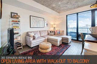 Photo 3: 383 Sorauren Ave Unit #513 in Toronto: Roncesvalles Condo for sale (Toronto W01)  : MLS®# W3911150