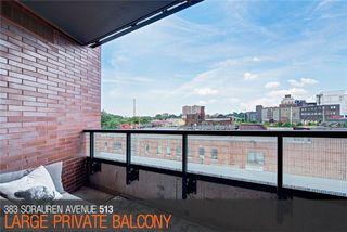 Photo 14: 383 Sorauren Ave Unit #513 in Toronto: Roncesvalles Condo for sale (Toronto W01)  : MLS®# W3911150
