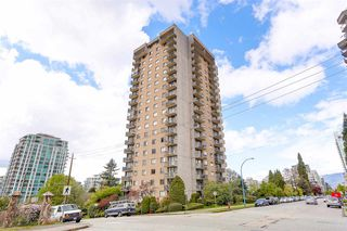 "Photo 1: 1507 145 ST. GEORGES Avenue in North Vancouver: Lower Lonsdale Condo for sale in ""TALISMAN TOWERS"" : MLS®# R2203430"