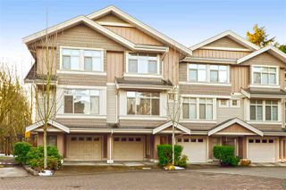 "Photo 1: 19 15151 34 Avenue in Surrey: Morgan Creek Townhouse for sale in ""SERENO"" (South Surrey White Rock)  : MLS®# R2238902"