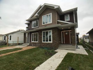 Main Photo: 10442 154 Street in Edmonton: Zone 21 House Half Duplex for sale : MLS®# E4131640
