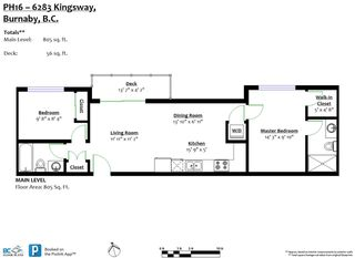 Photo 2: PH16 6283 KINGSWAY in Burnaby: Highgate Condo for sale (Burnaby South)  : MLS®# R2330744