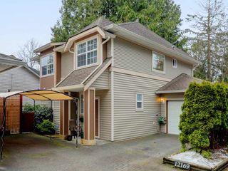 Photo 1: 3 12169 228TH Street in Maple Ridge: East Central Townhouse for sale : MLS®# R2348149
