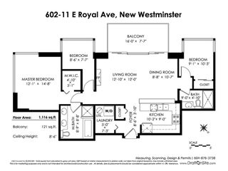 """Photo 20: 602 11 E ROYAL Avenue in New Westminster: Fraserview NW Condo for sale in """"VICTORIA HILL"""" : MLS®# R2353867"""