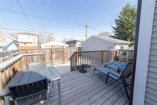 Photo 12: 309 Rutland Street in Winnipeg: St James Residential for sale (5E)  : MLS®# 1912317