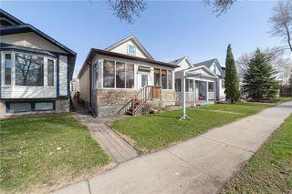 Photo 1: 309 Rutland Street in Winnipeg: St James Residential for sale (5E)  : MLS®# 1912317