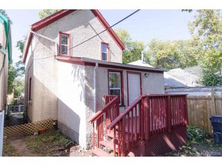 Photo 18: 489 Victor Street in WINNIPEG: West End / Wolseley Residential for sale (West Winnipeg)  : MLS®# 1423579