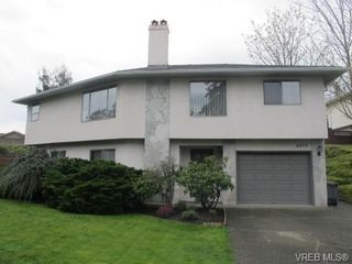 Photo 1: 4818 Cordova Bay Rd in VICTORIA: SE Sunnymead Single Family Detached for sale (Saanich East)  : MLS®# 695844