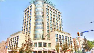 Photo 2: 806 760 Johnson St in VICTORIA: Vi Downtown Condo for sale (Victoria)  : MLS®# 795146
