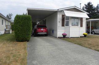 "Photo 1: 12 7610 EVANS Road in Chilliwack: Sardis West Vedder Rd Manufactured Home for sale in ""Cottonwood Village- Gate 4"" (Sardis)  : MLS®# R2299969"