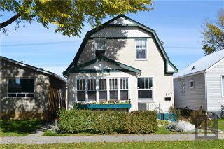 Main Photo: 807 McCalman Avenue in Winnipeg: East Kildonan Residential for sale (3B)  : MLS®# 1827612