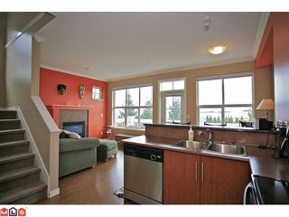 """Photo 3: 34 20460 66TH Avenue in Langley: Willoughby Heights Townhouse for sale in """"Willow Edge"""" : MLS®# F1201114"""