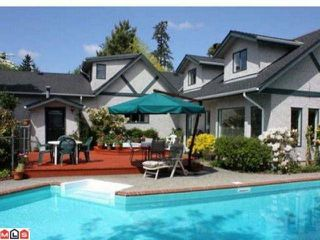 Photo 1: 6016  189TH ST in Surrey: Cloverdale BC House for sale (Cloverdale)  : MLS®# F1101394