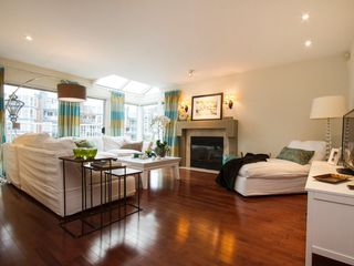 "Photo 9: 1592 ISLAND PARK Walk in Vancouver: False Creek Townhouse for sale in ""LAGOONS"" (Vancouver West)  : MLS®# V1099043"