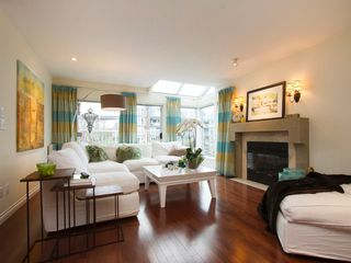 "Photo 10: 1592 ISLAND PARK Walk in Vancouver: False Creek Townhouse for sale in ""LAGOONS"" (Vancouver West)  : MLS®# V1099043"