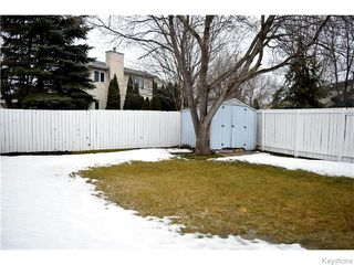 Photo 20: 78 Satinwood Place in Winnipeg: St Vital Residential for sale (South East Winnipeg)  : MLS®# 1605581