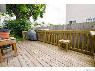 Photo 16: 37 Gowler Road in Winnipeg: Westwood / Crestview Residential for sale (West Winnipeg)  : MLS®# 1617177