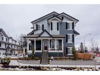 "Photo 1: 1 7157 210 Street in Langley: Willoughby Heights Townhouse for sale in ""Alder"" : MLS®# R2139231"