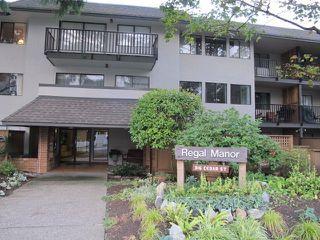 "Photo 1: 109 316 CEDAR Street in New Westminster: Sapperton Condo for sale in ""Regal Manor"" : MLS®# R2146791"