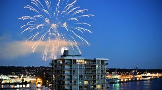 """Photo 2: 1005 720 CARNARVON Street in New Westminster: Downtown NW Condo for sale in """"Carnarvon Tower"""""""