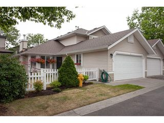 "Photo 1: 71 6488 168 Street in Surrey: Cloverdale BC Townhouse for sale in ""Turnberry by Polygon"" (Cloverdale)  : MLS®# R2290856"