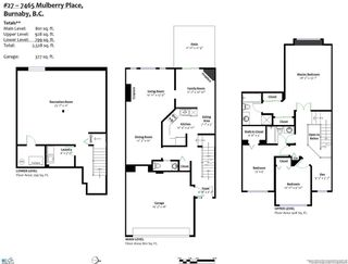 Photo 17: 27 7465 MULBERRY Place in Burnaby: The Crest Townhouse for sale (Burnaby East)  : MLS®# R2304520