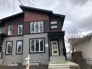 Main Photo: 10749 92 st in Edmonton: Zone 13 House Half Duplex for sale : MLS®# E4149564