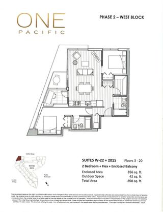 Photo 11: 1022 68 SMITHE Street in Vancouver: Downtown VW Condo for sale (Vancouver West)  : MLS®# R2374142