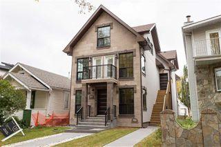 Main Photo: 9526 109A Avenue in Edmonton: Zone 13 House Half Duplex for sale : MLS®# E4176391