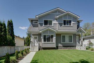 Photo 1: 12236 89 Street in Edmonton: Zone 05 House Half Duplex for sale : MLS®# E4200491