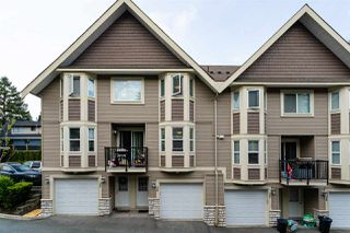"Photo 1: 26 33313 GEORGE FERGUSON Way in Abbotsford: Central Abbotsford Townhouse for sale in ""Cedar Lane"" : MLS®# R2462809"