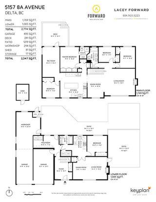 "Photo 40: 5157 8A Avenue in Tsawwassen: Tsawwassen Central House for sale in ""Cliff Drive"" : MLS®# R2507493"