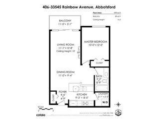 """Photo 21: 406 33545 RAINBOW Avenue in Abbotsford: Central Abbotsford Condo for sale in """"Tempo"""" : MLS®# R2527178"""
