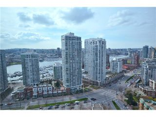 Photo 1: 3007 1008 CAMBIE Street in Vancouver: Yaletown Condo for sale (Vancouver West)  : MLS®# V999838