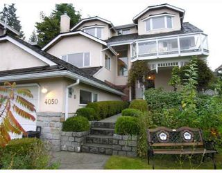 Photo 1: 4050 ST.PAULS in North Vancouver: House for sale (West Vancouver)  : MLS®# V785183