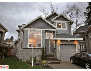 Photo 1: 15241 81A Ave in Surrey: Fleetwood Tynehead Home for sale ()  : MLS®# F1002196