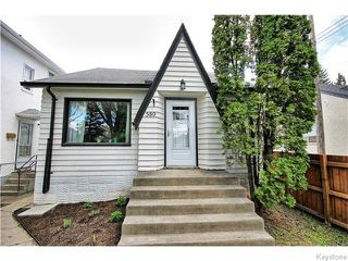 Photo 1: 589 Church Avenue in Winnipeg: North End Residential for sale (North West Winnipeg)  : MLS®# 1612684