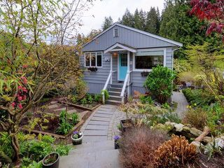 Main Photo: 1942 BANBURY Road in North Vancouver: Deep Cove House for sale : MLS®# R2264500