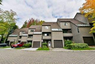 "Main Photo: 8537 WOODTRAIL Place in Burnaby: Forest Hills BN Townhouse for sale in ""Simon Fraser Village"" (Burnaby North)  : MLS®# R2336309"