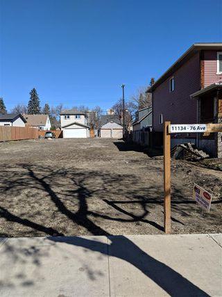 Main Photo: 11134 76 Avenue in Edmonton: Zone 15 Vacant Lot for sale : MLS®# E4151160