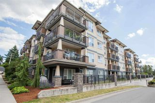 "Photo 1: 424 2565 CAMPBELL Avenue in Abbotsford: Central Abbotsford Condo for sale in ""ABACUS UPTOWN"" : MLS®# R2381899"
