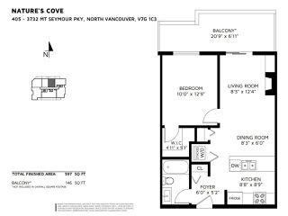 "Photo 21: 405 3732 MT SEYMOUR Parkway in North Vancouver: Indian River Condo for sale in ""Natures cove"" : MLS®# R2447094"