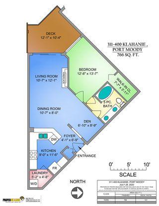 Photo 23: 311 400 KLAHANIE DRIVE in Port Moody: Port Moody Centre Condo for sale : MLS®# R2483122