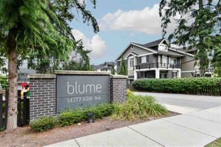 "Main Photo: 23 14377 60 Avenue in Surrey: Sullivan Station Townhouse for sale in ""Blume"" : MLS®# R2493767"