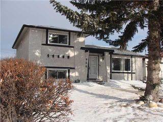 Photo 1: 956 MARPOLE Road NE in CALGARY: Marlborough Residential Detached Single Family for sale (Calgary)  : MLS®# C3595046