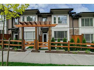"Photo 1: 8 23986 104 Avenue in Maple Ridge: Albion Townhouse for sale in ""SPENCER BROOK"" : MLS®# V1066745"